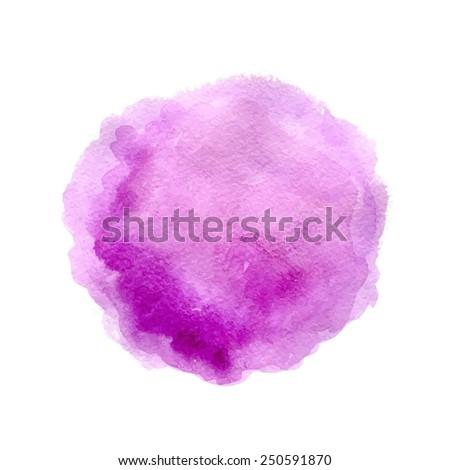 Violet spot - stock vector