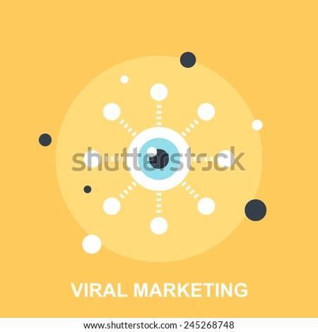 Viral Marketing - stock vector