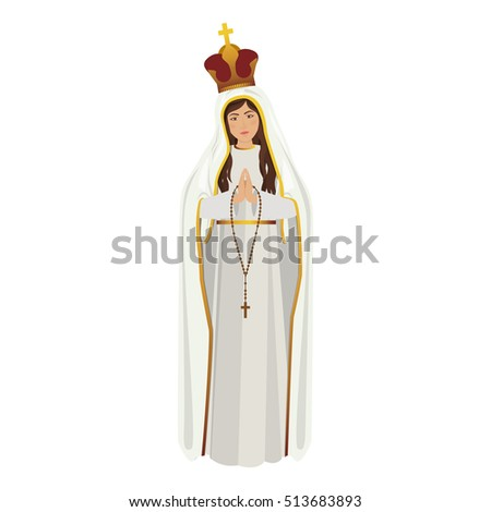 virgin mary design