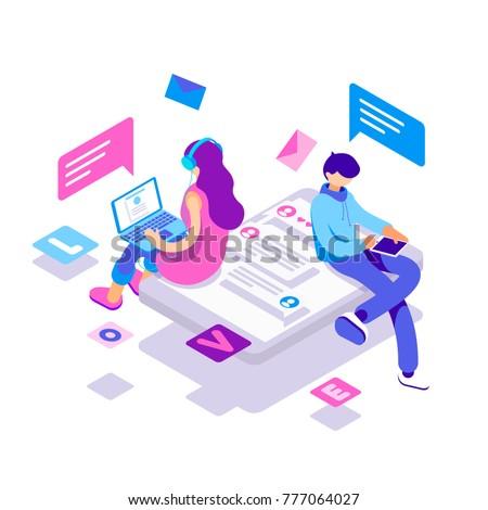 Online internet cyber dating network