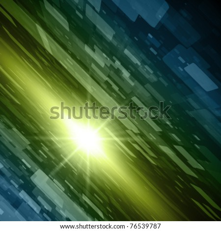 Virtual technology space vector background. Eps 10. - stock vector
