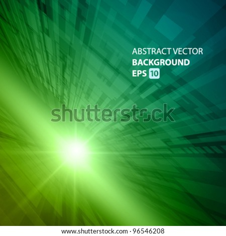 Virtual technology vector background. Eps 10. - stock vector
