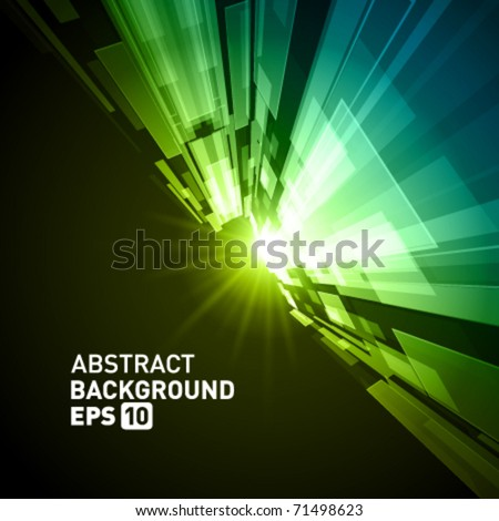 Virtual tecnology vector background. Eps 10. - stock vector