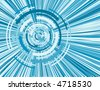 virtual whirl blue digital image pattern - stock vector
