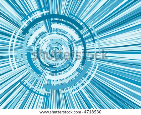 virtual whirl blue digital image pattern