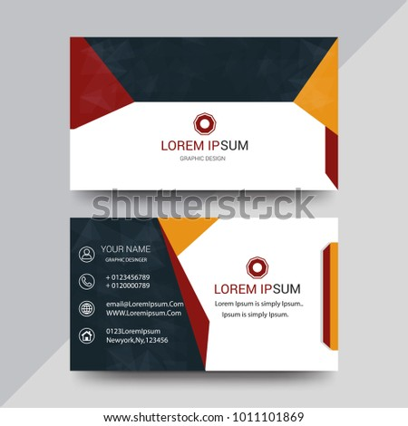 Visiting card business card set abstract stock vector royalty free visiting card business card set with abstract pattern colourmoves