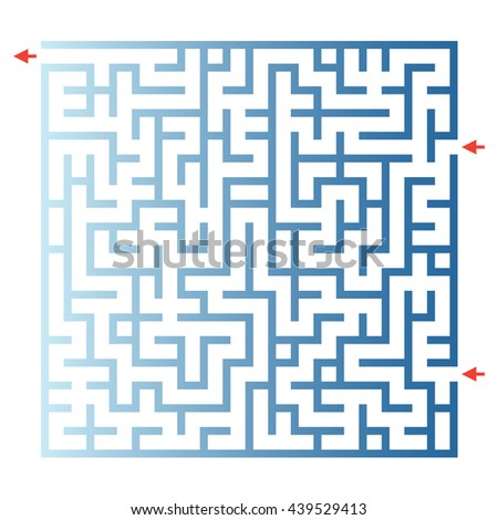Visual game for Preschool Children. Funny maze game for kids. Vector Labyrinth for preschool children. Rebus or quiz for schoo