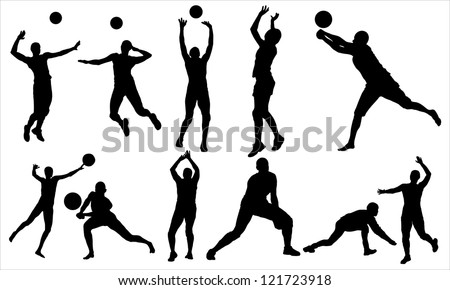 Volleyball - stock vector