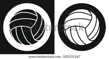 Volleyball Icon Stock Images Royalty Free Images