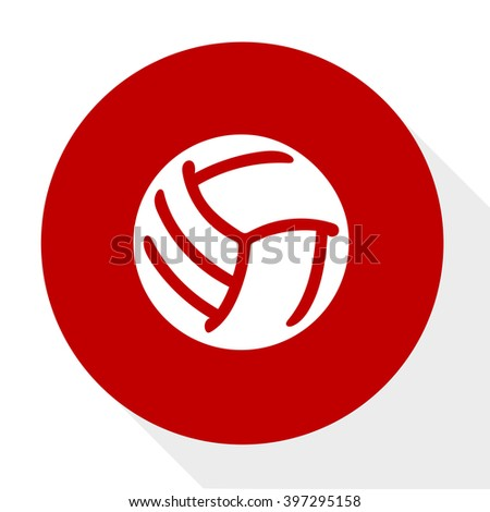 volleyball icon stock images royaltyfree images