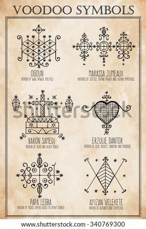 Voodoo Hand Symbols