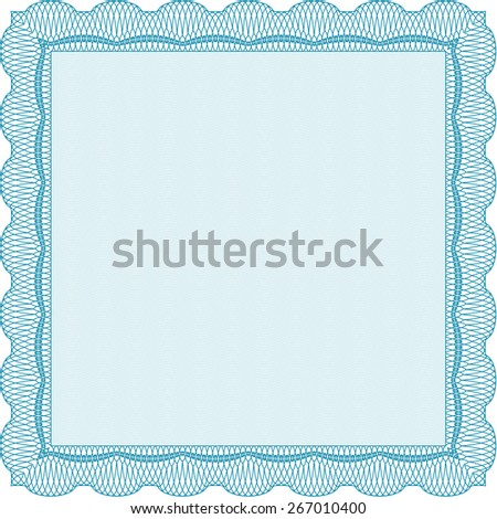 Blank Certificate Diploma Template Vector 133980986 – Money Coupon Template