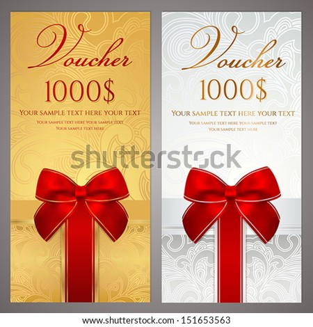 Christmas Gift Certificate Images RoyaltyFree Images – Christmas Gift Card Template