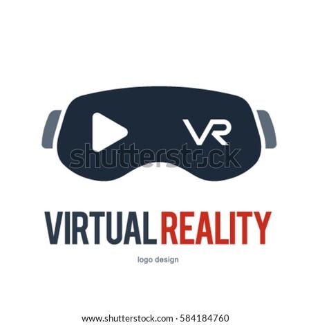 VR VIRTUAL REALITY LOGO ICON SYMBOL Stock Vector 584184760 ...  VR VIRTUAL REAL...