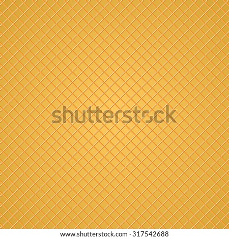 Wafer Pattern - stock vector