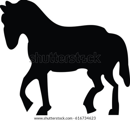 Horse Walking Stock Vectors, Images & Vector Art | Shutterstock
