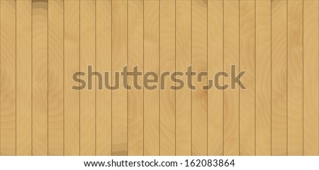 wall or floor created from many wooden laths