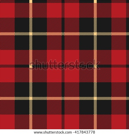 Wallace scottish tartan tileable vector wallpaper that repeats left, right, up and down