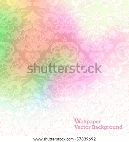 Wallpaper Background, eps10 - stock vector