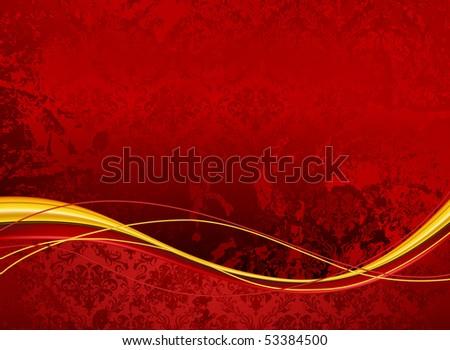 Wallpaper Background horizontal, vector - stock vector