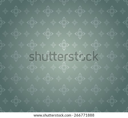 Wallpaper Background. Retro texture. Vintage style. Vector Image - stock vector