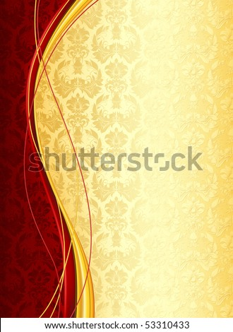 Wallpaper Background, vector - stock vector