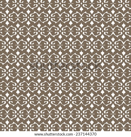 wallpaper pattern design in vector - stock vector