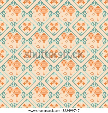 wallpaper pattern modern stylish texture geometric tiles background in retro style for your design