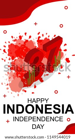 Wallpaper Phone Special Happy Indonesia Independence Day