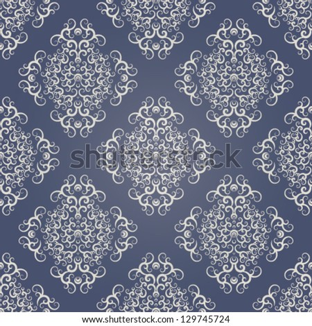 wallpaper seamless texture with lace ornaments. eps 10. - stock vector