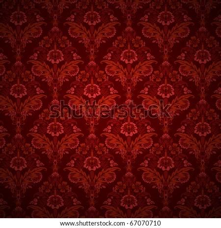 wallpaper texture - stock vector