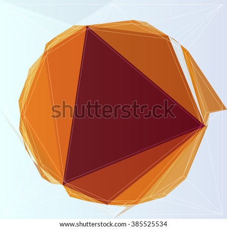 wallpaper vector geometry colorful concept triangle color