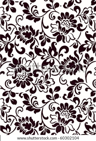 wallpaper vintage vector design background - stock vector