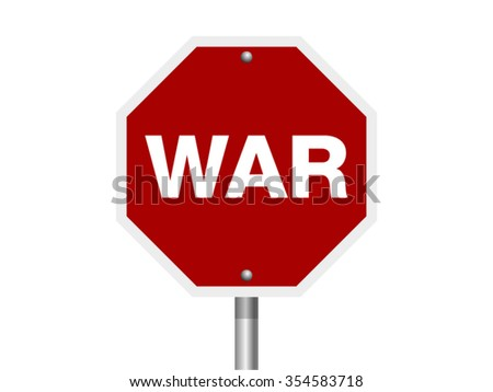 War Sign Tag