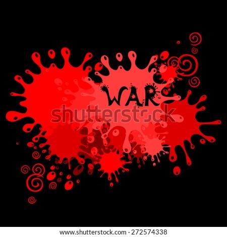 War. Vector Illustration - stock vector