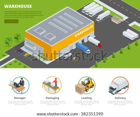 Warehouse stock photos royalty free images vectors for Warehouse layout template