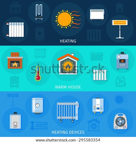 Heating system stock photos images pictures shutterstock for Heat setting for home