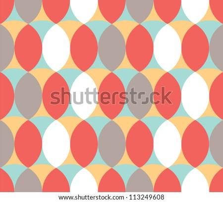 Warm Pattern/ Vintage/ Geometry - stock vector