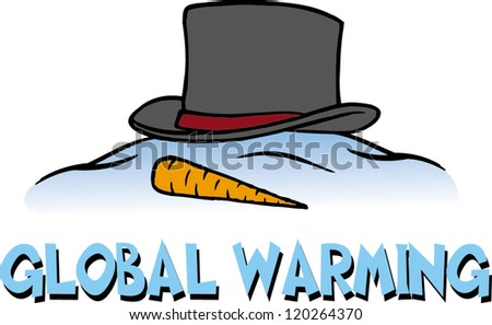 warming - stock vector