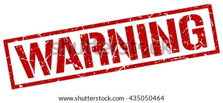 warning stamp.stamp.sign.warning. - stock vector