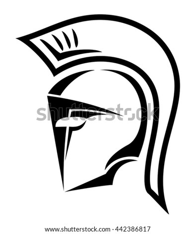 warrior helmet symbol