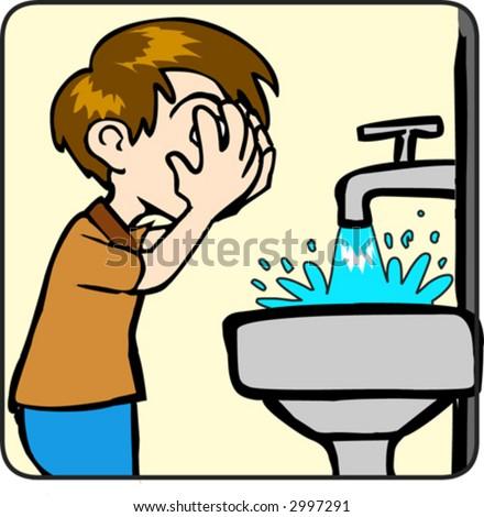 Boy Washing Face Stock Images, Royalty-Free Images ...