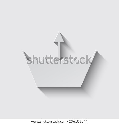 Wash icon. Machine washable with shadow on a grey background - stock vector