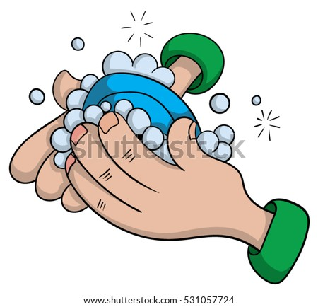 Washing Hands Cartoon Stock Images Royalty Free Images