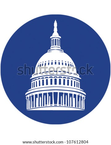 Washington DC - stock vector