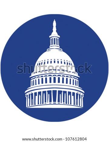 Washington DC - stock vector