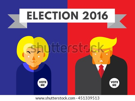 Presidential Nominations Clip Art