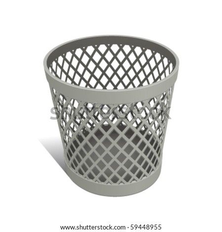 Wastepaper Basket Simple Wastepaper Basket Stock Images Royaltyfree Images & Vectors Review