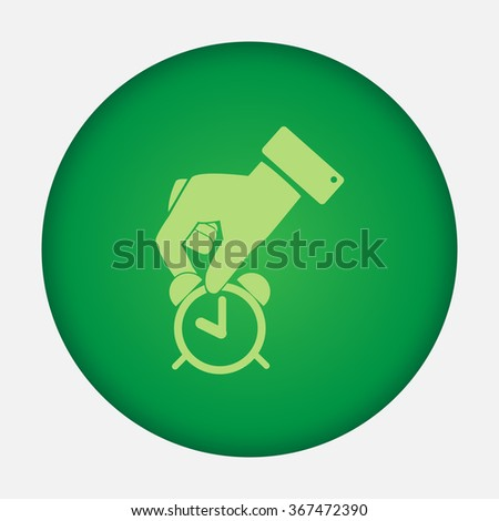 Watch vector icon  - stock vector