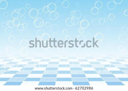 Water Bubble - stock vector